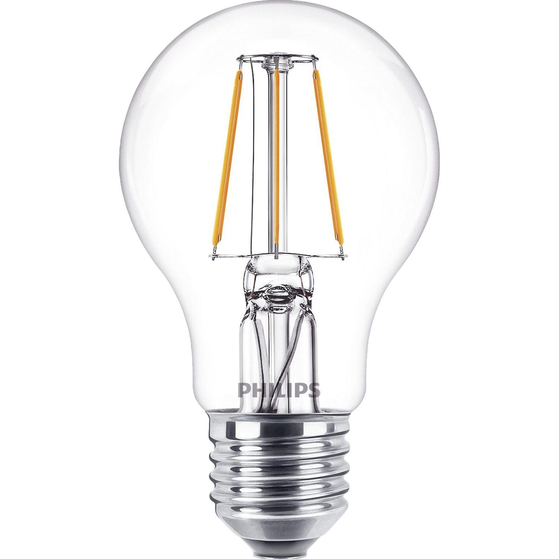 philips led leuchtmittel gl hlampenform e27 4 w 470 lm. Black Bedroom Furniture Sets. Home Design Ideas