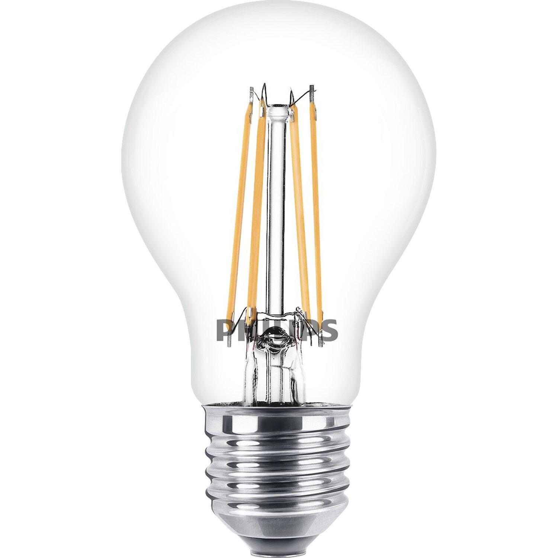 philips led leuchtmittel gl hlampenform e27 6 w 806 lm. Black Bedroom Furniture Sets. Home Design Ideas