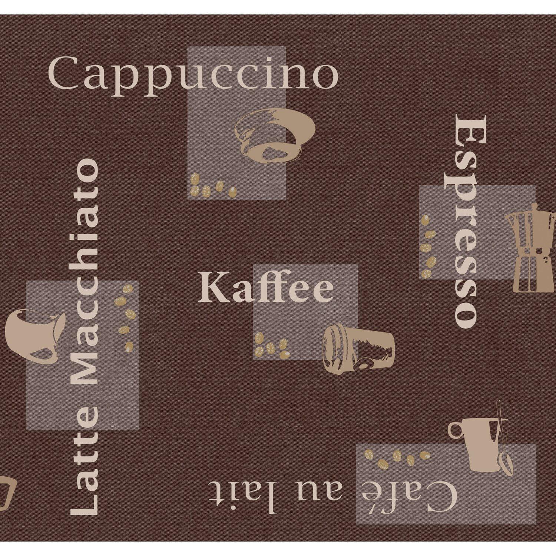 d c fix d-c-fix Tischdecke Cappuccino Schoko 110 x 140 cm eckig
