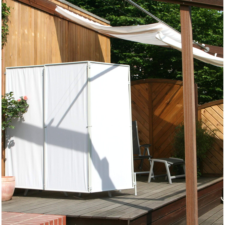 floracord paravent sicht und windschutz hell elfenbein 210 cm x 170 cm kaufen bei obi. Black Bedroom Furniture Sets. Home Design Ideas