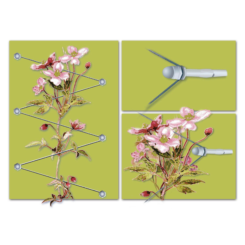 floracord rankhilfe edelstahl kaufen bei obi