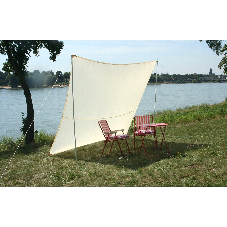 floracord camping viereckssonnensegel sand 250 cm x 300 cm kaufen bei obi. Black Bedroom Furniture Sets. Home Design Ideas