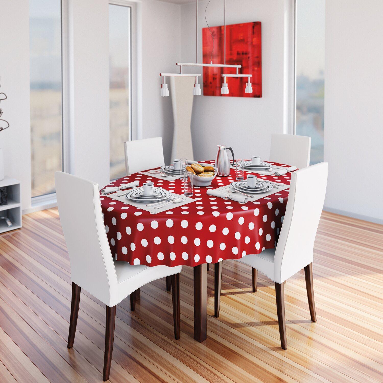 d c fix tischdecke venita rot meterware breite 140 cm kaufen bei obi. Black Bedroom Furniture Sets. Home Design Ideas