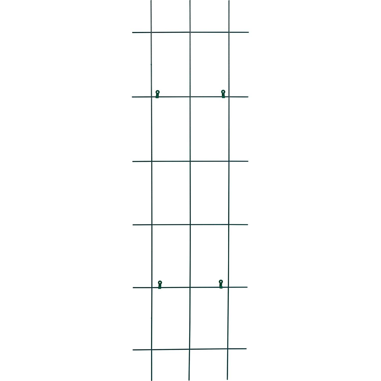 OBI Metallspalier 150 cm x 45 cm Grün