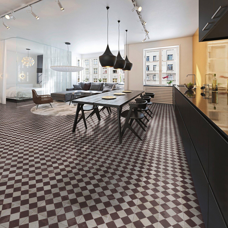 classen designboden neo 2 0 prime raute rot kaufen bei obi. Black Bedroom Furniture Sets. Home Design Ideas