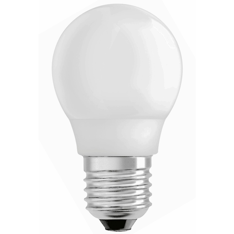 osram energiesparlampe tropfenform e27 9 w 430 lm warmwei eek a kaufen bei obi. Black Bedroom Furniture Sets. Home Design Ideas