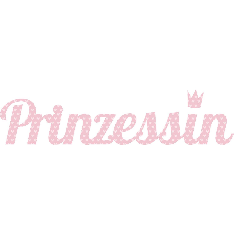Wandtattoo Prinzessin 25 cm x 70 cm
