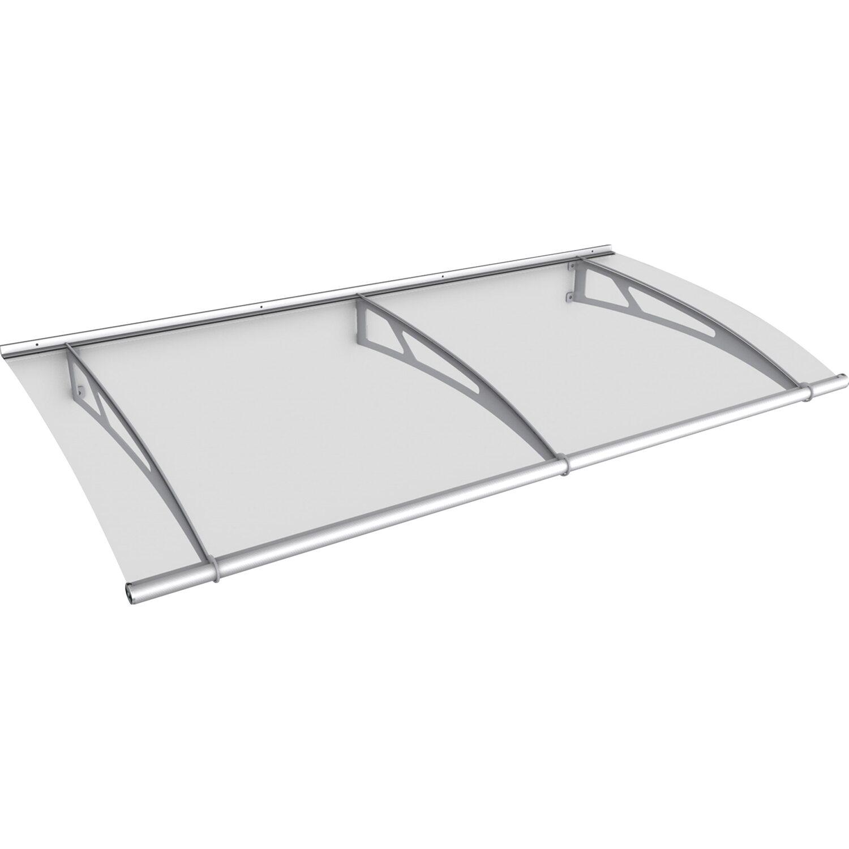 pultvordach l edelstahl klar 17 cm x 190 cm x 95 cm kaufen bei obi. Black Bedroom Furniture Sets. Home Design Ideas