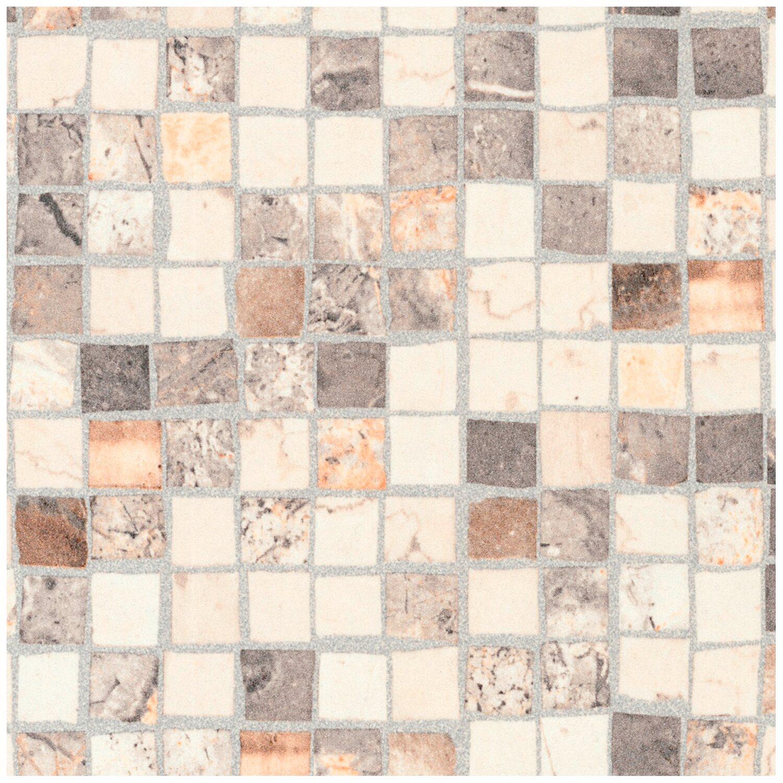 Arbeitsplatte 60 cm x 3,9 cm Mosaik Braun-Beige (S 234) kaufen bei OBI