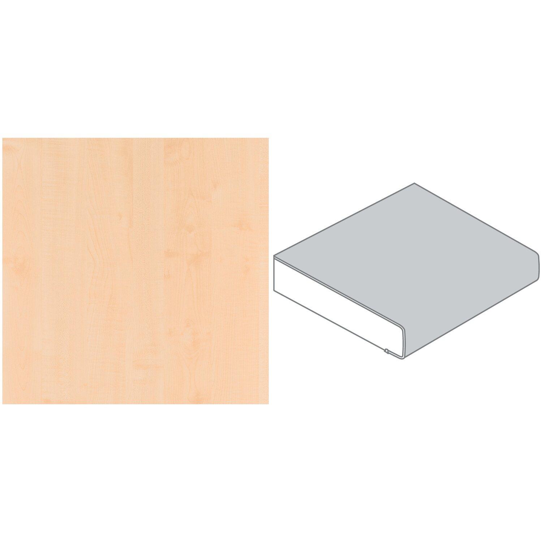 Arbeitsplatte 60 Cm X 3 9 Cm Ahorn Geplankt Holznachbildung Ha 26