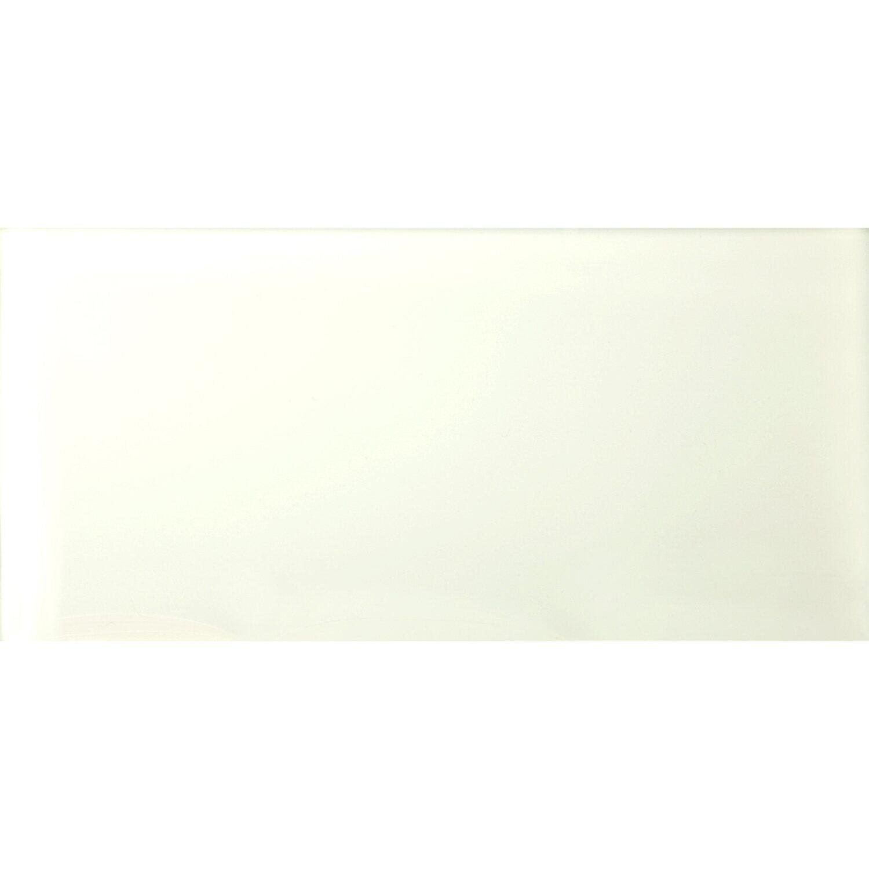 Sonstige Wandfliese Glas Glossy Weiß 30 cm x 60 cm