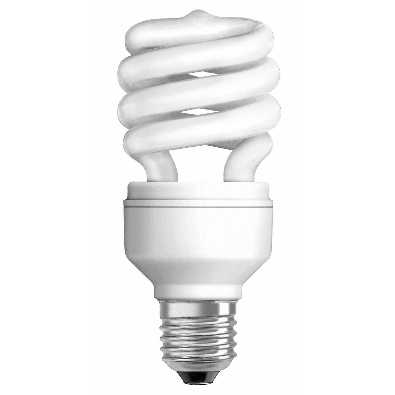 Osram Energiesparlampe Spiralform E27 / 20 W (1...