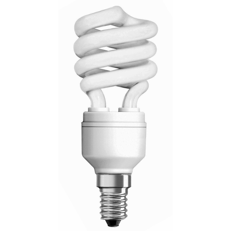 Osram Energiesparlampe Spiralform E14 / 12 W (660 lm) Warmweiß EEK: A | Lampen > Leuchtmittel > Energiesparlampen | Osram