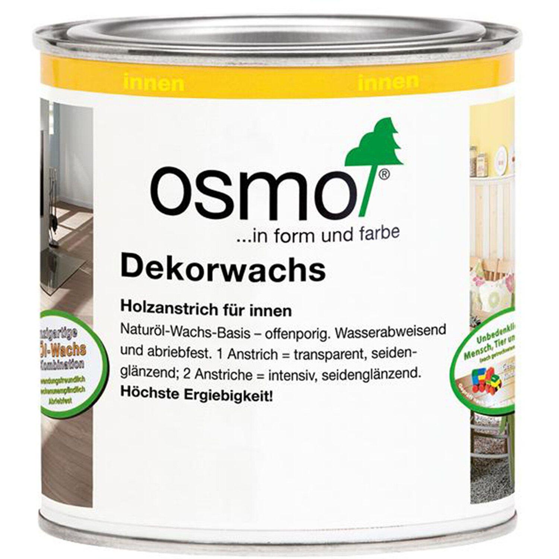 Osmo Dekorwachs Intensiv Schwarz 375 ml
