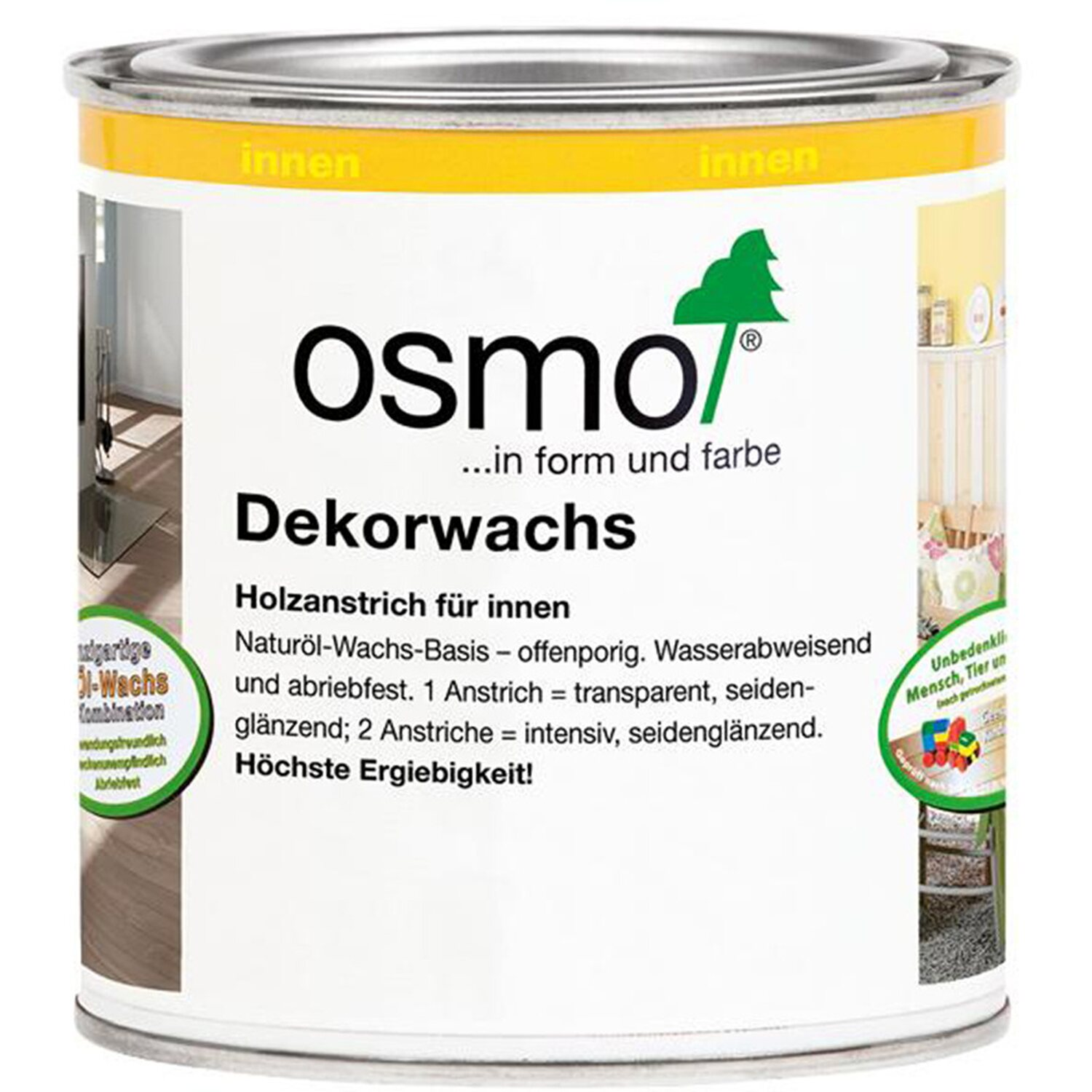 Osmo Dekorwachs Transparent Farblos 375 ml