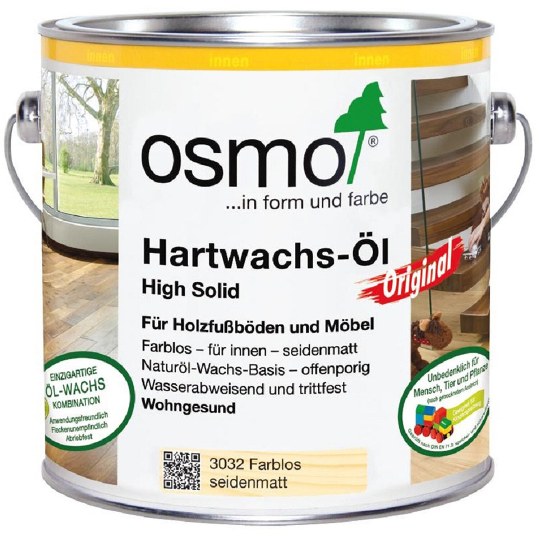 Osmo  Hartwachs Öl Farblos 2,5 l