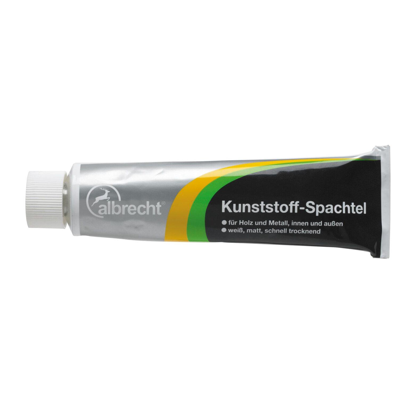 Albrecht  Kunststoff-Spachtel Weiß 125 g