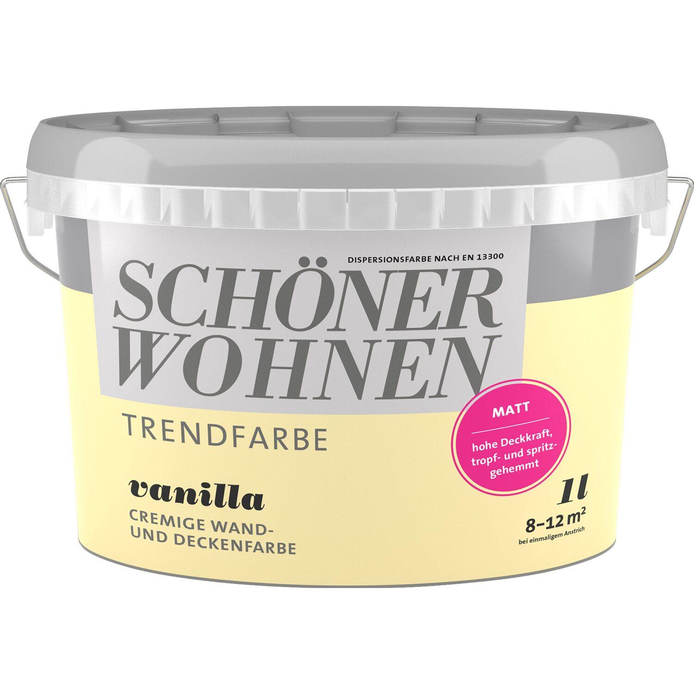 Schöner Wohnen Trendfarbe Vanilla Matt 1 L Kaufen Bei OBI