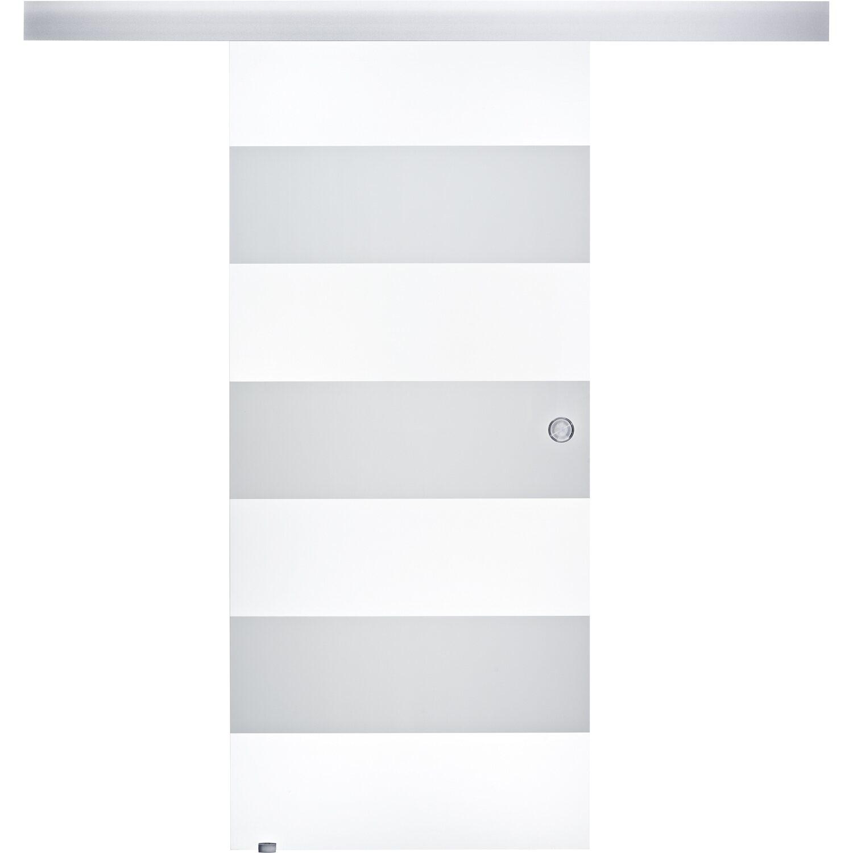 obi glasschiebet r tira geschlossenes system satiniert streifen 90 x 205 cm kaufen bei obi. Black Bedroom Furniture Sets. Home Design Ideas