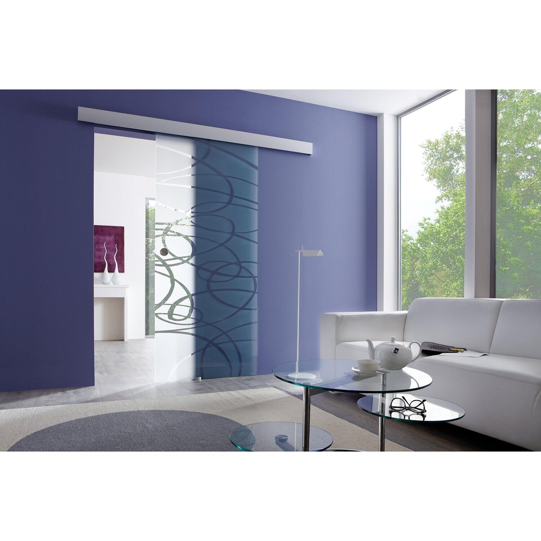 obi glasschiebet r laco geschlossenes system streifen 90 cm x 205 cm kaufen bei obi. Black Bedroom Furniture Sets. Home Design Ideas