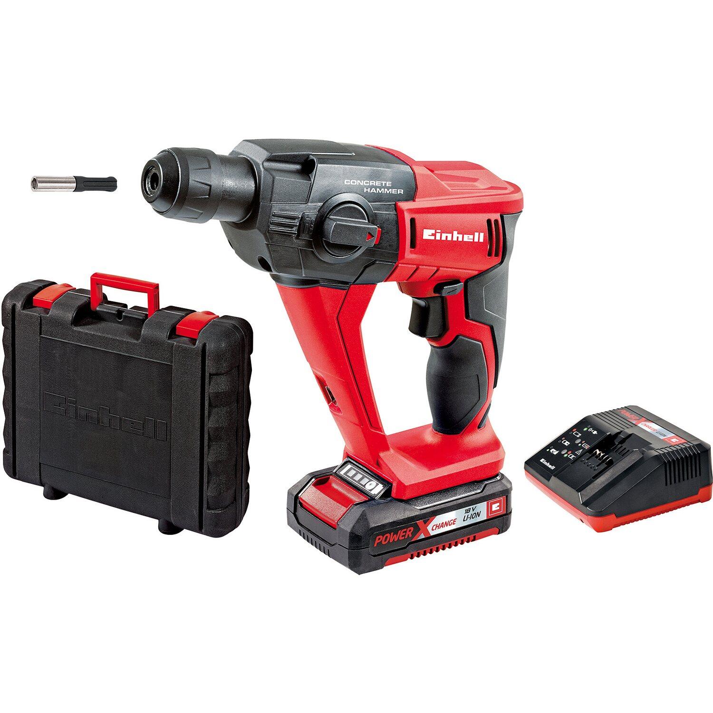 Einhell Power X-Change Akku-Bohrhammer TE-HD 18 Li Kit