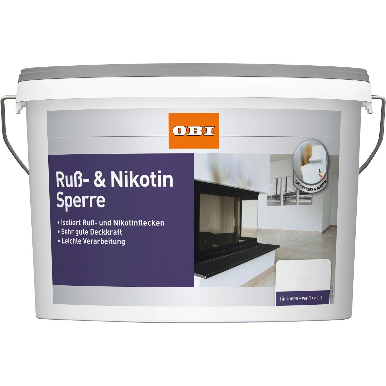 OBI Ruß- & Nikotinsperre Weiß matt 2,5 l kaufen bei OBI