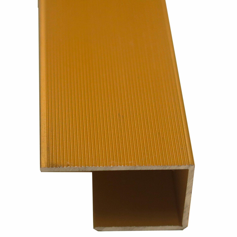 einfassprofil 14 16 mm messing 900 mm kaufen bei obi. Black Bedroom Furniture Sets. Home Design Ideas