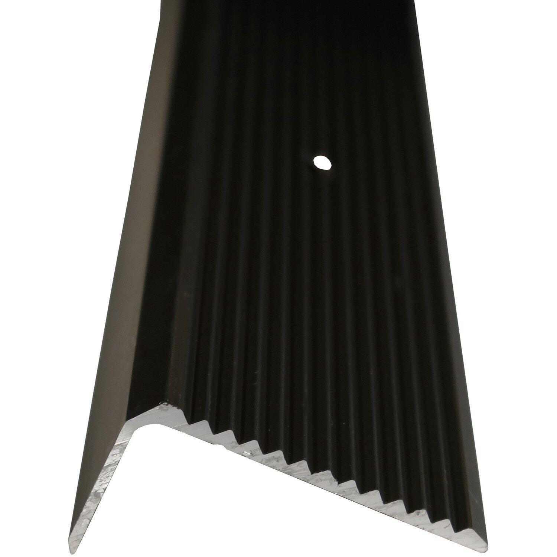 Treppenwinkelprofil 45 mm x 20 mm Bronze 1000 mm   Baumarkt > Leitern und Treppen > Treppen   Braun   Sonstige