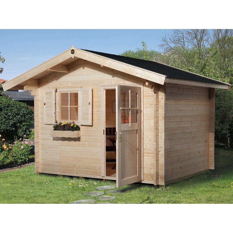 Astounding Weka Holzbau Sammlung Von Holz- Brescia C Mit Vordach Bxt: 300