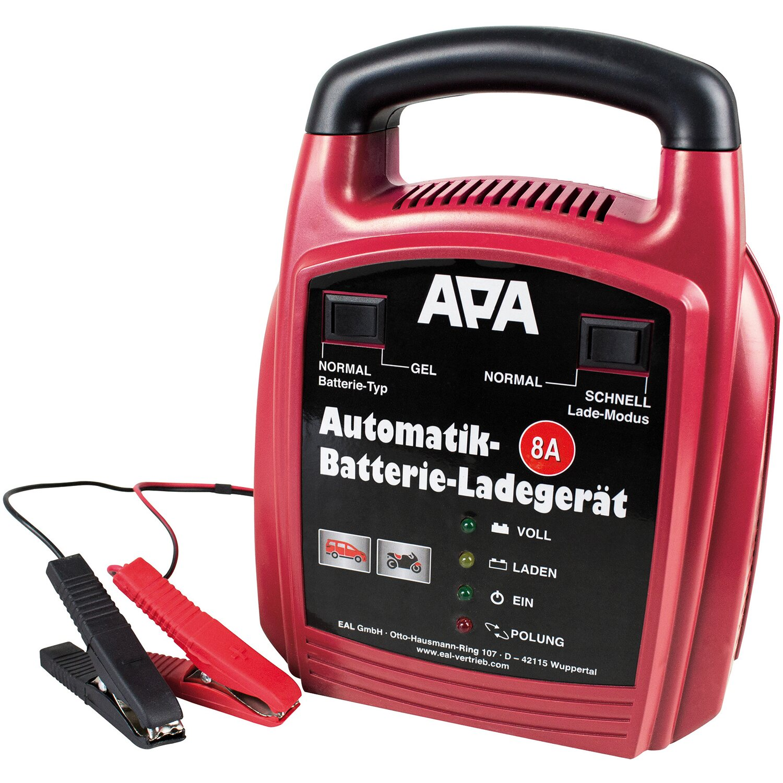 APA Automatik-Batterieladegerät 8 A Preisvergleich