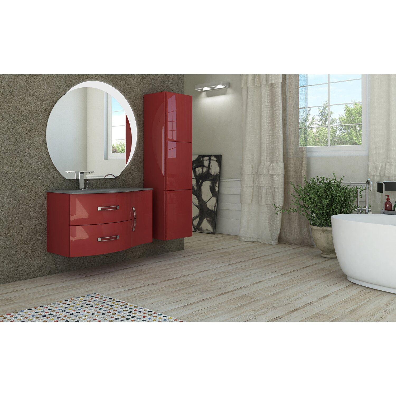 waschbeckenunterschrank 70 cm best rot kaufen bei obi. Black Bedroom Furniture Sets. Home Design Ideas