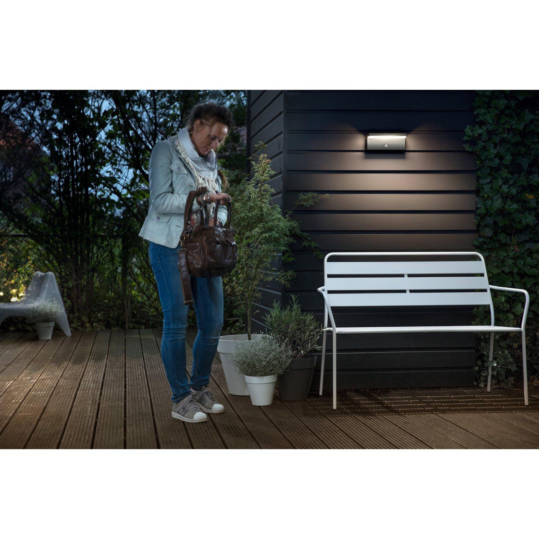 philips mygarden led au en wandleuchte mit bewegungsmelder bustan eek a a kaufen bei obi. Black Bedroom Furniture Sets. Home Design Ideas