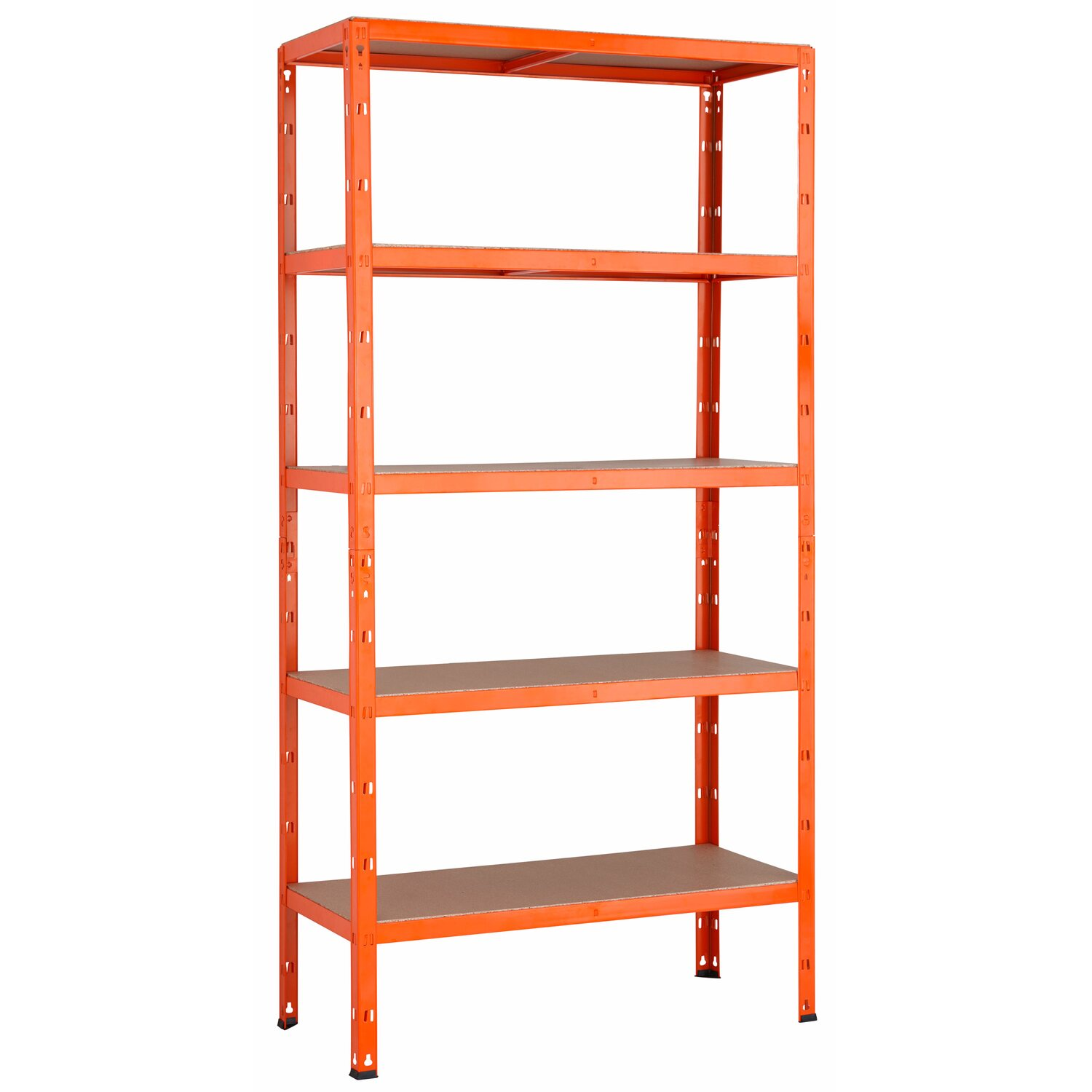 metall schwerlast steckregal orange 180 cm x 90 cm x 40 cm. Black Bedroom Furniture Sets. Home Design Ideas