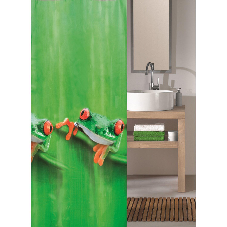 obi duschvorhang charlie maigr n 180 cm x 200 cm kaufen. Black Bedroom Furniture Sets. Home Design Ideas