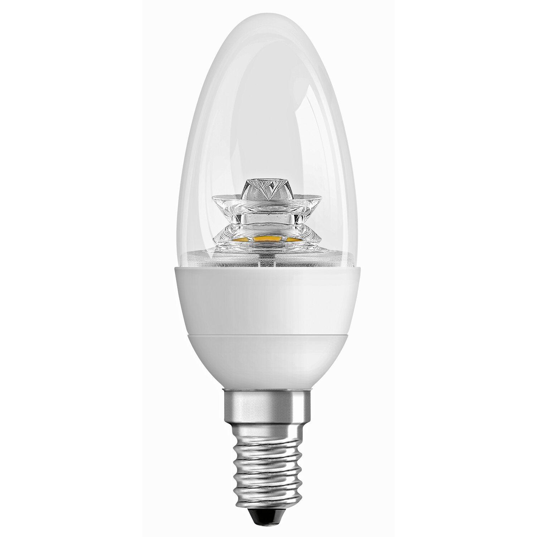 osram led lampe kerzenform e14 6 w 470 lm warmwei klar eek a kaufen bei obi. Black Bedroom Furniture Sets. Home Design Ideas