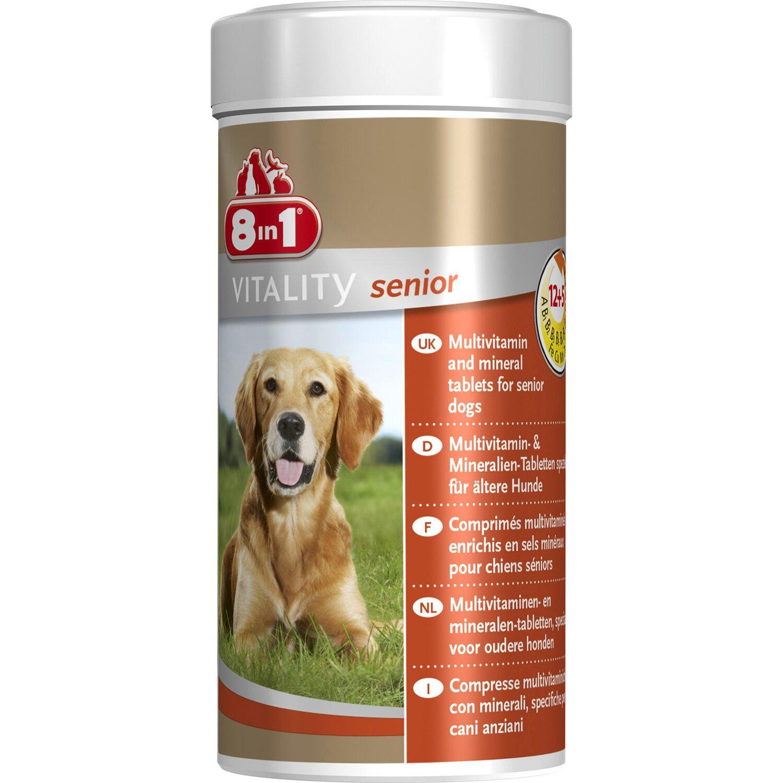 8in1 Multivitamin Tabletten für ältere Hunde 70...