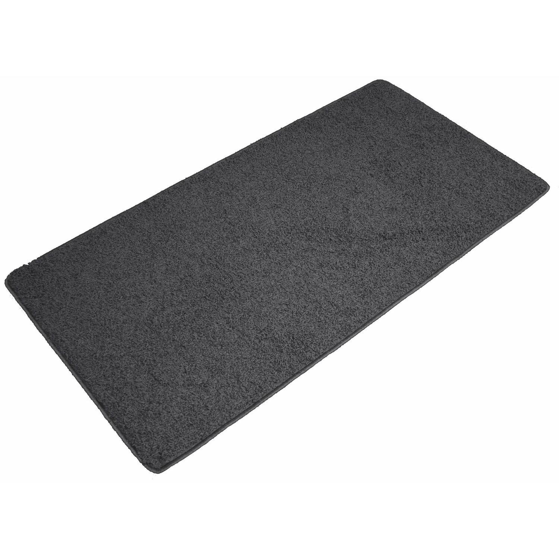 hochflor teppich schwarz 67 cm rund kaufen bei obi. Black Bedroom Furniture Sets. Home Design Ideas