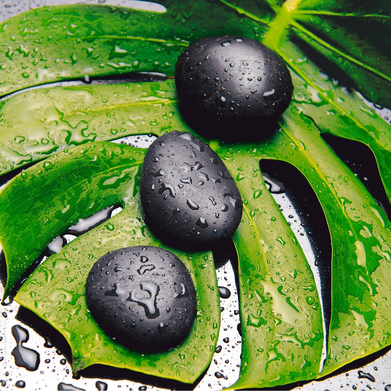 Eurographics deco glass triple stones 50 cm x 50 cm kaufen for Deco glass bilder kuche