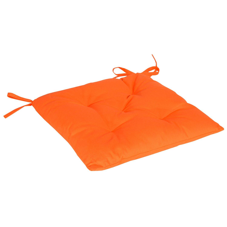 stuhlkissen luis mandarine 40 cm x 40 cm kaufen bei obi. Black Bedroom Furniture Sets. Home Design Ideas