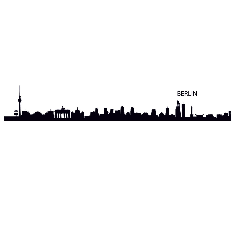 Elegant Wandtattoo Berlin Ideen Von Eurographics Outline