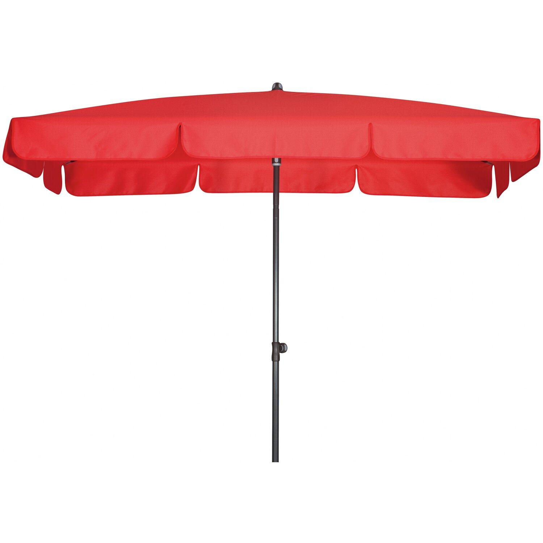 doppler sonnenschirm sunline waterproof rechteckig 260 x 150 cm rot kaufen bei obi. Black Bedroom Furniture Sets. Home Design Ideas