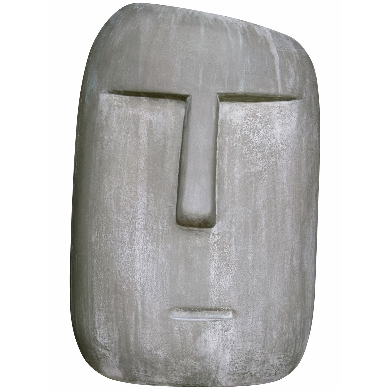 Gartenfigur Moai 31 Cm Antikbraun Kaufen Bei Obi
