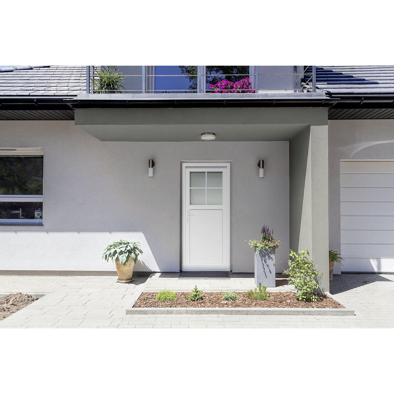 Nebeneingangstür kaufen  Kunststoff-Nebeneingangstür 98 cm x 198 cm K502 DIN Links Weiß ...