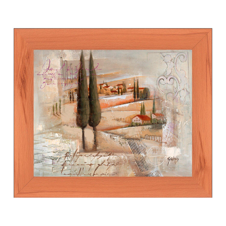 bild mit rahmen charming tuscany i 32 cm x 38 cm kaufen bei obi. Black Bedroom Furniture Sets. Home Design Ideas