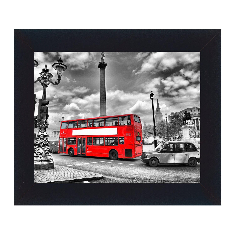 Bild mit Rahmen Streets of London 32 cm x 38 cm kaufen bei OBI