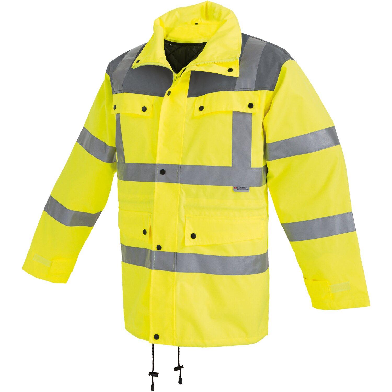 Warnschutzparka gelb-blau Gr Bekleidung & Schutzausrüstung L