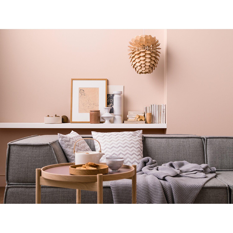 Schöner Wohnen Wandfarbe Naturell Quarzrosa matt 2,5 l kaufen bei OBI
