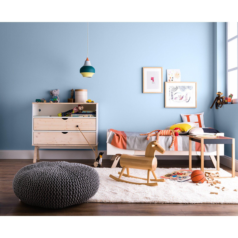 Schöner Wohnen Wandfarbe Naturell Quellblau matt 2,5 l