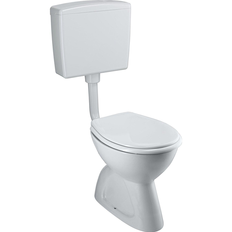 CMI Stand-WC-Set Tiefspüler Weiß Abgang senkrecht | Bad > WCs | CMI