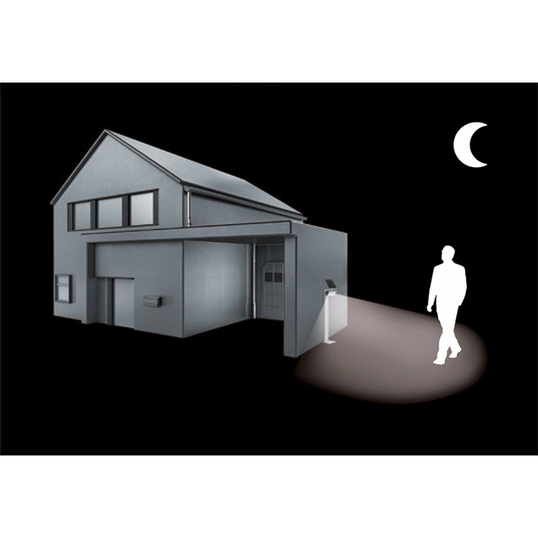 steinel led solar wegeleuchte x solar gl s wei kaufen bei obi. Black Bedroom Furniture Sets. Home Design Ideas